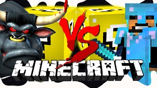 Minecraft: COW LUCKY BLOCK CHALLENGE | Grab the Bull by the Horns!