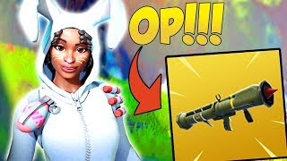 GUIDED ROCKET LAUNCHER IS SIMPLY OP! | NEW Bunny Brawler Skin | Fortnite Battle Royale | iBeMaine