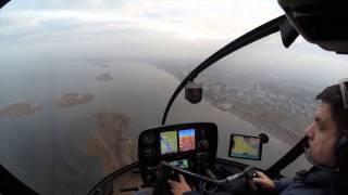 Тестирование автопилот вертолета Robinson R66