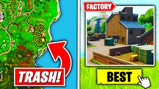 Top 5 FORGOTTEN Fortnite Locations ONLY *OGs* REMEMBER!