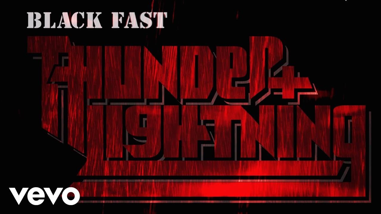 black fast thunder and lightning youtube