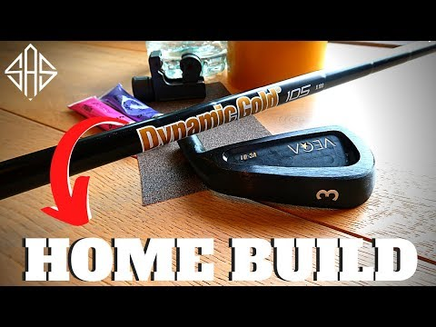 BUILDING MY DREAM GOLF CLUB AT HOME - (Minimal Tools Required)