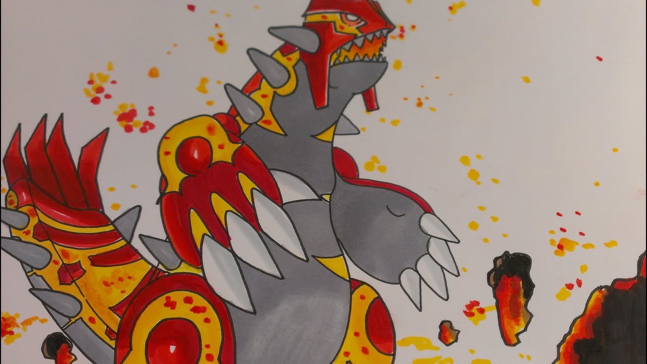 Drawing Legendary Poke...