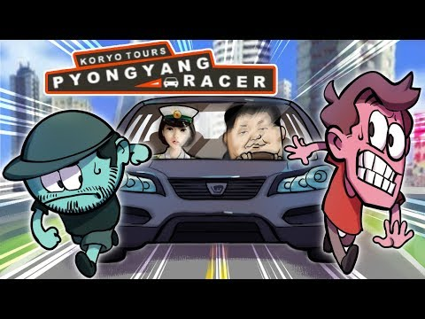 Pyongyang Racer (North Korean Video Game) | SuperMega