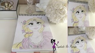 Rapunzel Drawing + Chat - The girl with the really really long hair!