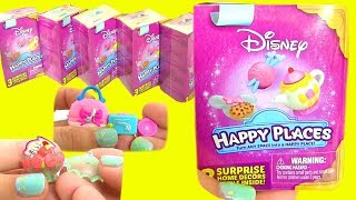 #SHOPKINS Happy Places Disney Сюрпризы для Кукол - Принцессы Диснея #Шопкинсы Видео для Детей