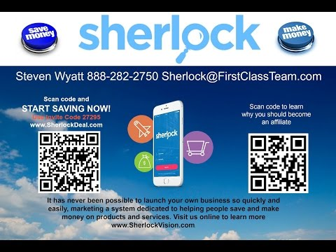 Sherlock Business Presentation & Sherlock update w/Thomas Bang