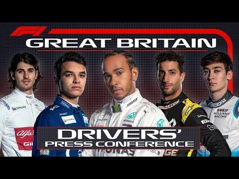 2019 British Grand Prix: Pre-Race Press Conference