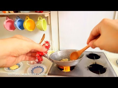 S2 EP22: Cheesy Baked Ground Beef Cabbage [ASMR COOKING] [MINIATURE COOKING KITCHEN TOY SET]