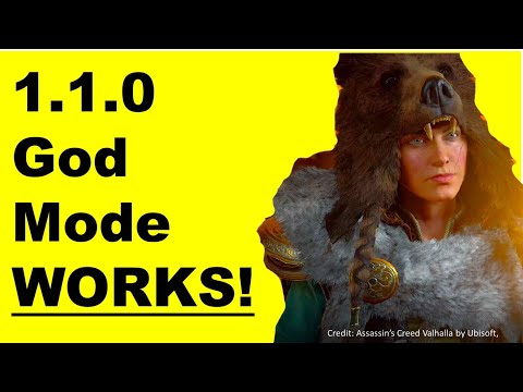 2021 God Mode WORKS! After 1.1.0, GLITCH Assassin's Creed Valhalla, 5 secret TIPS #valhalla