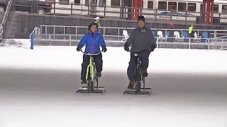 Ice Bikes of Buffalo New York