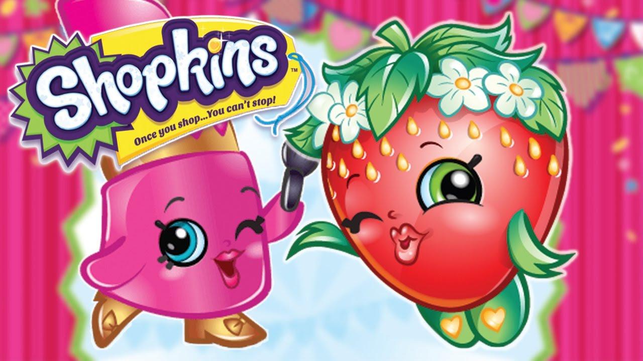 Shopkins happy birthday. Strawberry full episode cartoons