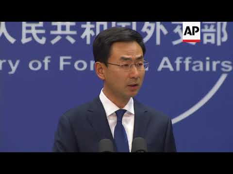 China on Taiwan, Trump drugs criticism and Syria
