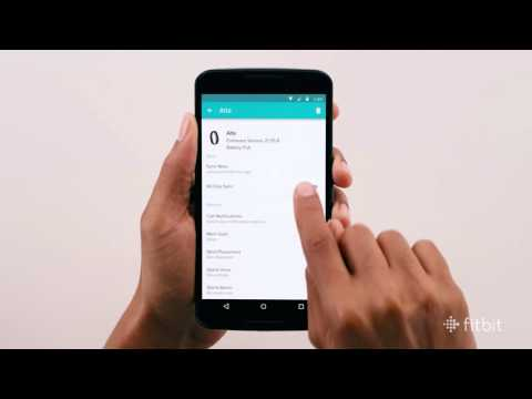 Fitbit: How To Sync and Get Notifications with Android Devices