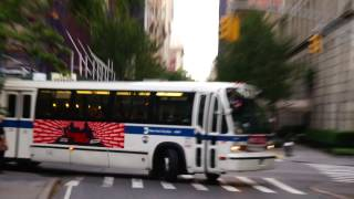 1998 novabus rts 06 4946 on the m66 the 66th street transverse
