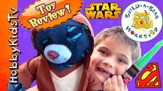 Star Wars Superman Build A Bear! Big Workshop Downtown Disney Store Hobbykidstv