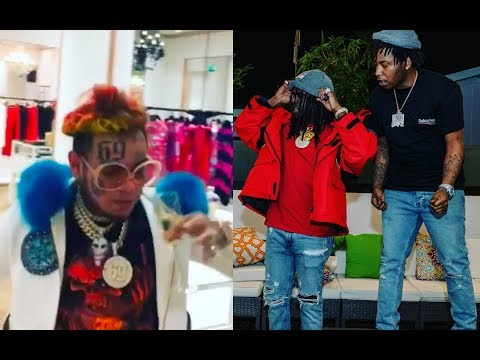 6ix9ine in MAJOR TROUBLE with NYPD, Currently being investigated for Chief Keef Shooting in NYC