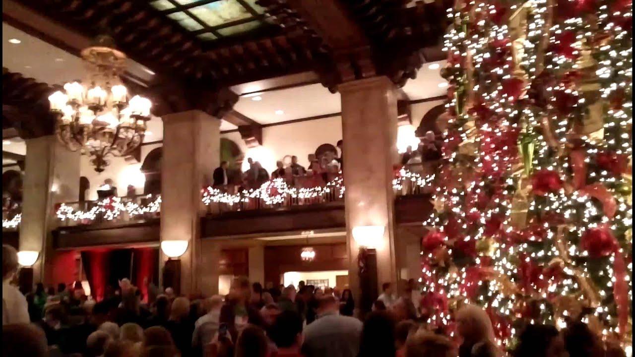 Christ Tree Lighting @ The Peabody Hotel, Memphis