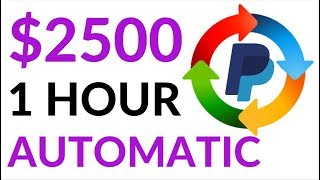 Earn $2500 in 1 Hour On AUTOPILOT! (Easy Way To Make Money Online)