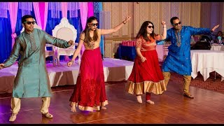 Indian baby shower bollywood dance