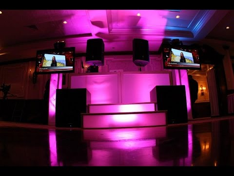 LONG ISLAND NEW YORK WEDDING DJ, MC, LIGHTING, TV SCREENS, PHOTO BOOTH & MORE RENE LUNA PRODUCTIONS