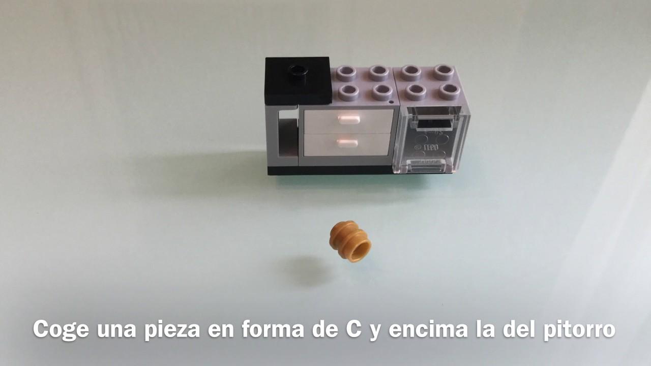 Como Hacer Una Cocina Lego Part 1 Youtube