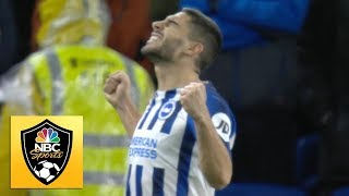 Neal Maupay equalizes for Brighton against Wolves | Premier League | NBC Sports
