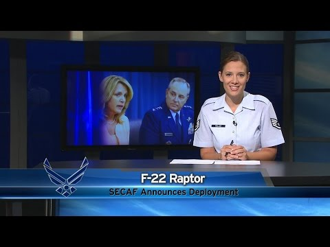 Air Force Report: F-22 Deployment