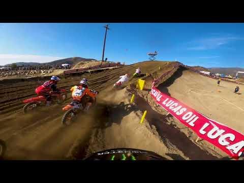2020 Fox Raceway National - GoPro Broc Tickle 450 Moto 2 Highlights