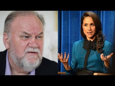 "Meghan Markle's Dad Speaks Out On F-ud Rumors, Calls Her ""Demanding"""