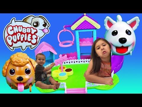 El juguete de Chubbie Puppies Cachorros Patosos Centro Entrenamiento en espanol