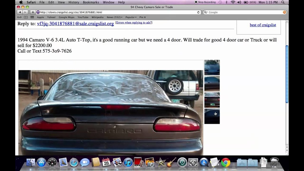 Craigslist Clovis New Mexico Cheap Used Cars Under By - May best craigslist ad car ever