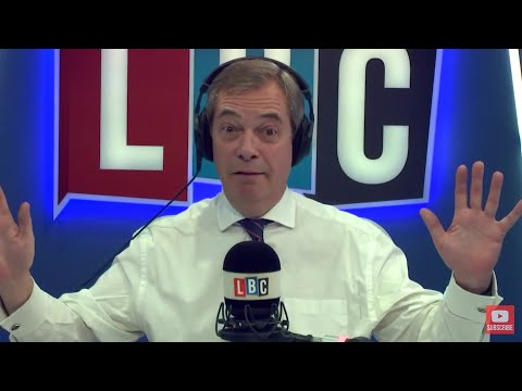 The Nigel Farage Show: Has Theresa May's letter to EU citizens come too late? LBC - 11th Dec 2017