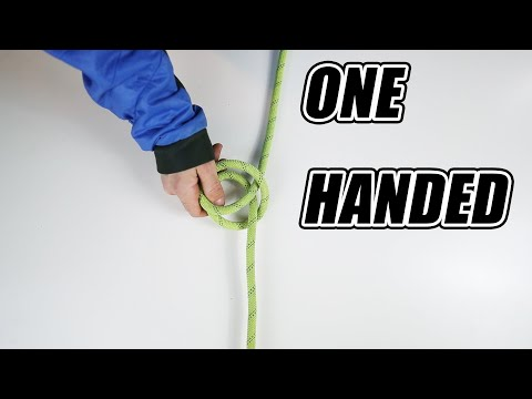TOP 5 ONE HANDED CLIMBING KNOT TRICKS