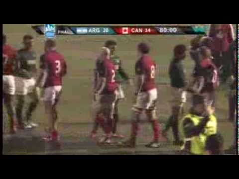 Canada vs Argentina - Americas Rugby Championship 2013 Highlights