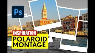 Photoshop: Polaroid Collage erstellen - Tutorial - deutsch/german