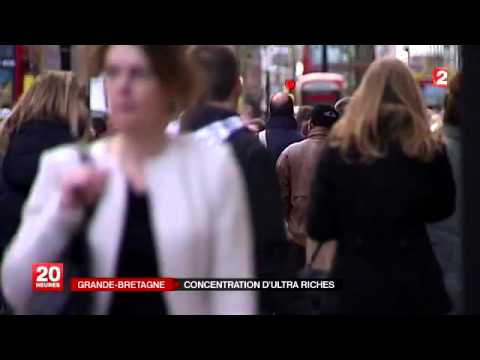 Grande-Bretagne : concentration d'ultra-riches