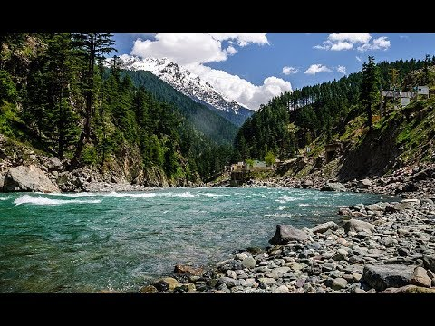 Tourist and beauty of Swat river