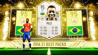 THE BEST FIFA 21 PACKS! 😍👏- LUCKIEST FIFA 21 PACK OPENING REACTIONS COMPILATION #1