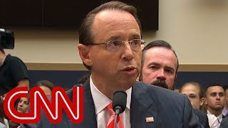 Watch lawmakers grill Rosenstein at hearing