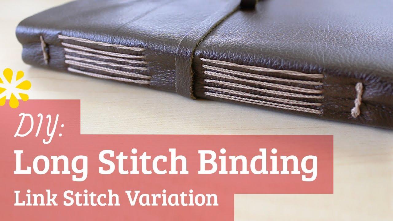 Diy long stitch bookbinding tutorial sea lemon youtube solutioingenieria Choice Image