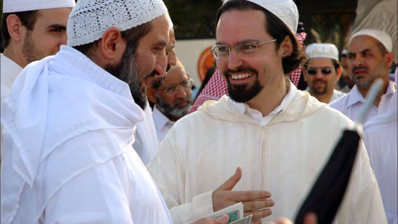 sheikh hamza yusuf marriage