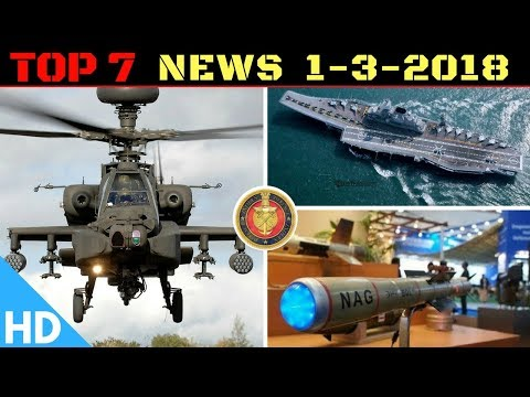 Indian Defence Updates : Apache Helicopter Plant in India,DRDO Nag Order,INS Vikramaditya Upgrade