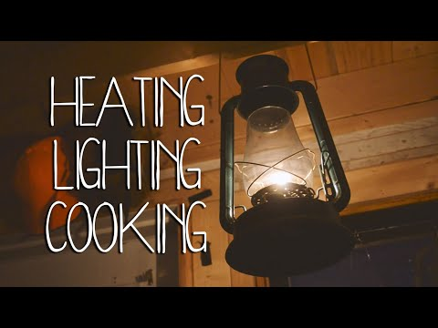 Off Grid Cabin | Heat, Lights & Cooking Systems
