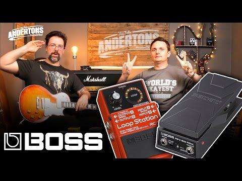 Boss PW3 Mini Wah & Boss RC1 Looper
