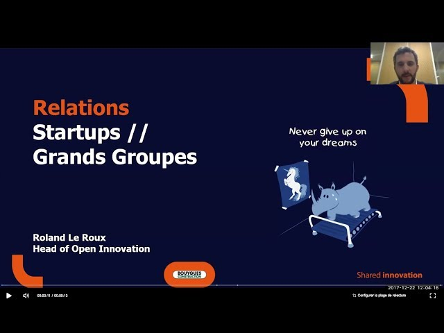 Bouygues Construction - Webinaire Cleantech Business Angels Ven 22 Dec 2017