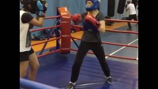 Women boxing Женский ринг Гелиос Кожухово