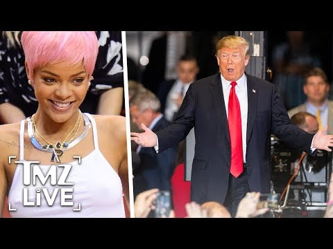 Rihanna To Trump: Stop Using My Music! | TMZ Live Mp3