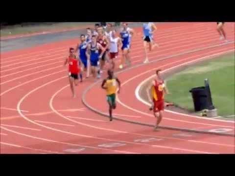 Erik Armes, Coronado High School Record for 1500 meter run