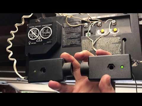 bypass garage door safety sensor wiring diagram  cobalt